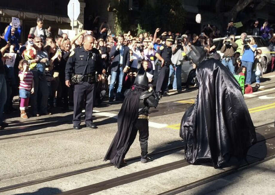 """Can #Batkid code? Maybe he can fix #obamacare website""  — joegarofoli (@joegarofoli) November 15, 2013"