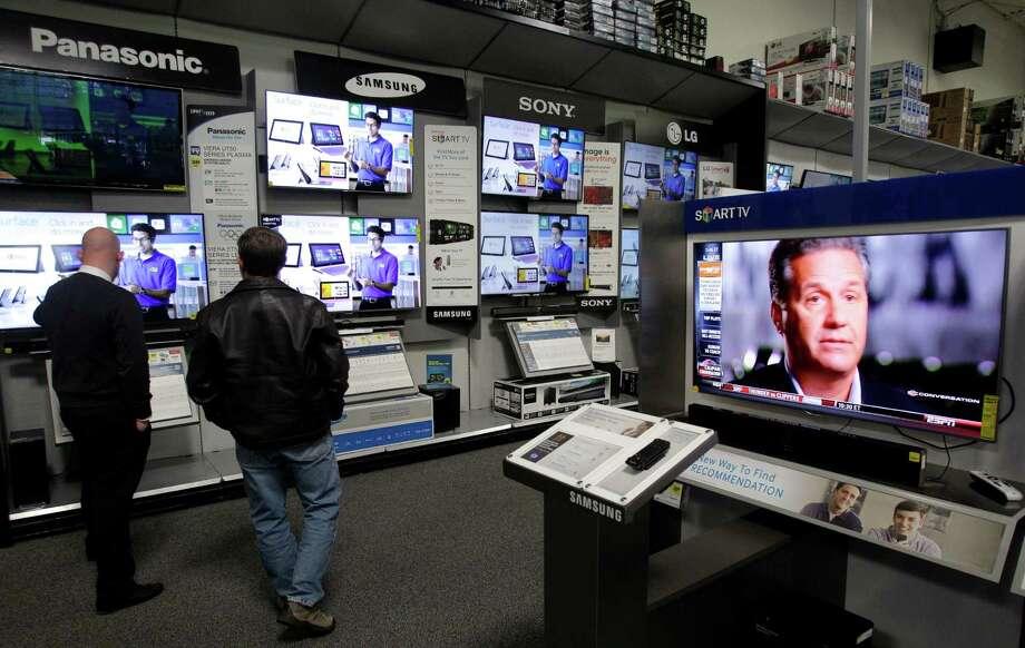 BeddingLinensSwimwearToysTreadmills and elliptical machinesTVsWinter clothingSource: Consumer Reports Photo: Melissa Phillip, Staff / © 2013  Houston Chronicle