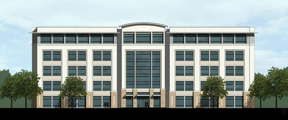 Stream Realty Partners will start construction before year's end on Lockhill Crossing, a five-story, 126,000-square-foot office building on the Northwest Side. Photo: Stream Realty Partners / Courtesy Illustration