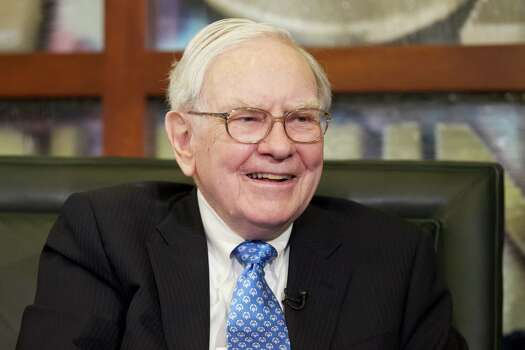 FILE - In this Monday, May 6, 2013, file photo, Warren Buffett smiles during an interview with Liz Claman of the Fox Business Network in Omaha, Neb. The Berkshire Hathaway company reports quarterly earnings on Friday, Nov. 1, 2013. (AP Photo/Nati Harnik, File) Photo: Nati Harnik, STF / AP