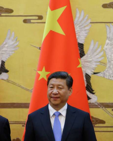 BEIJING, CHINA - NOVEMBER 13:  China's President Xi Jinping attends a signing ceremony with Yemen's President Abd-Rabbu Mansour Hadi (not pictured) at the Great Hall of the People on Novmeber 13, 2013 in Beijing, China.  (Photo by Jason Lee - Pool/Getty Images) Photo: Pool / 2013 Getty Images