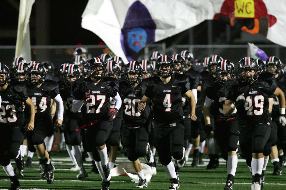 The Churchill Chargers take on the Judson Rockets Nov. 15, 2013 at Comalander Stadium. Photo: Cynthia Esparza, Cynthia Esparza/Special To The Express-News / For the San Antonio Express-News
