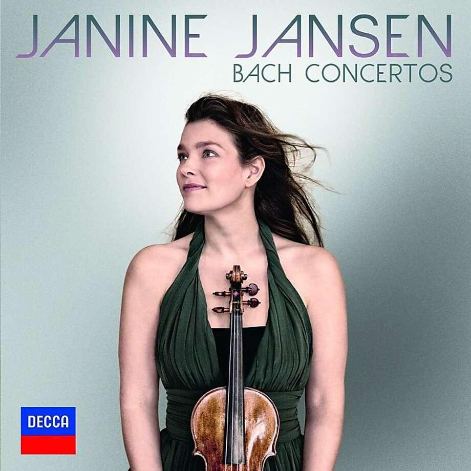 Dutch violinist Janine Jansen Photo: Decca