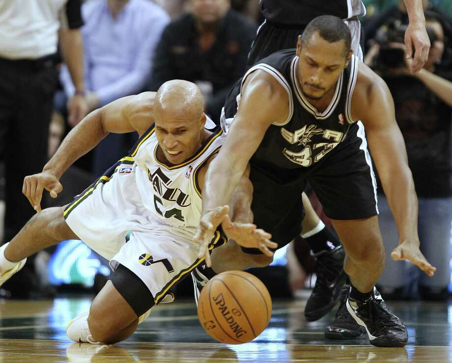 Richard Jefferson,forward with Jazz, averaging 9.9 points. 2.9 rebounds, 1.8 assists in 2014. Photo: George Frey / Associated Press