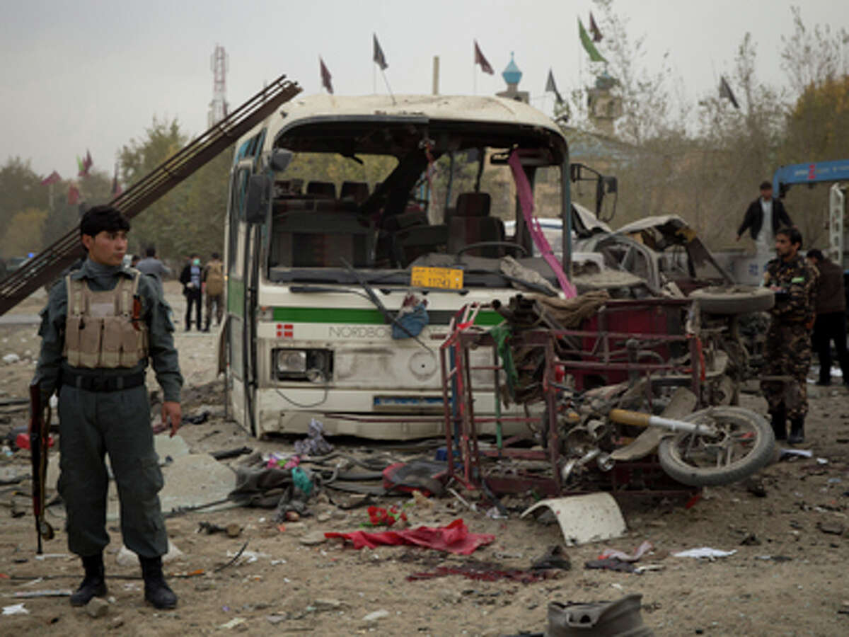 Afghanistan 2014 attacks Dead: 4,505 Percent of terrorism deaths in 2014:13.8 percent