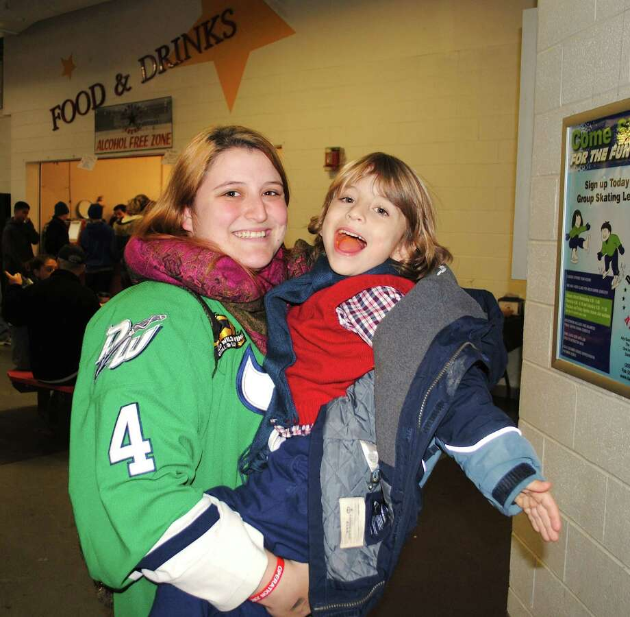 Were you SEEN at the Danbury Whalers game at the Danbury Ice Arena on Friday, November 15, 2013? Photo: Wendy Mitchell