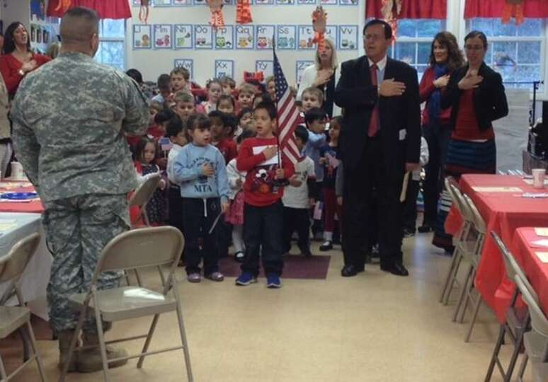 Mother Teresa Academy recently held a veterans recognition ceremony. A highlight of the morning was