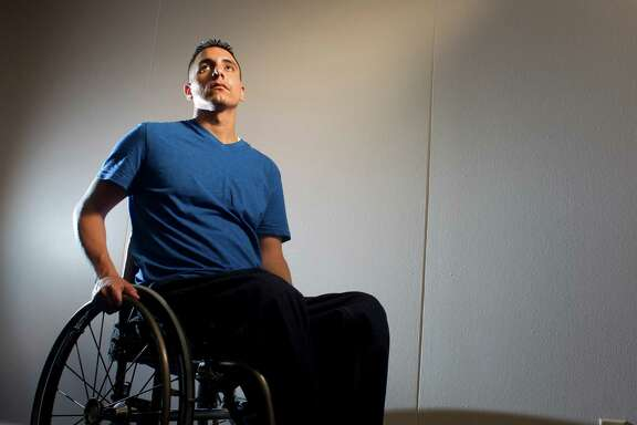Ricardo Salazar-Limon, a husband and father, will spend the rest of his life in a wheelchair after being shot in the back by an HPD officer during a 2010 traffic stop on U.S. 59. The officer was never charged.