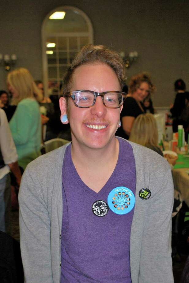 Were you Seen at the annual Albany VegFest, sponsored by the Albany Vegetarian Network, at the Polish Community Center in Albany on Saturday, Nov. 16, 2013? Photo: Silvia Meder Lilly