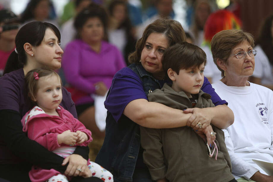 State Sen. Leticia Van de Putte, her grandson Julian Stiles and other family members attend the benefit's opening ceremony. Photo: Lisa Krantz / San Antonio Express-News