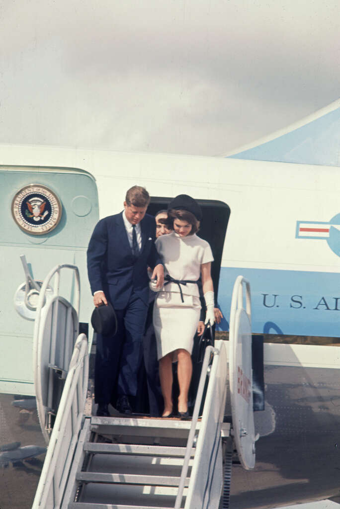 Image result for jfk arrives in san antonio 1963
