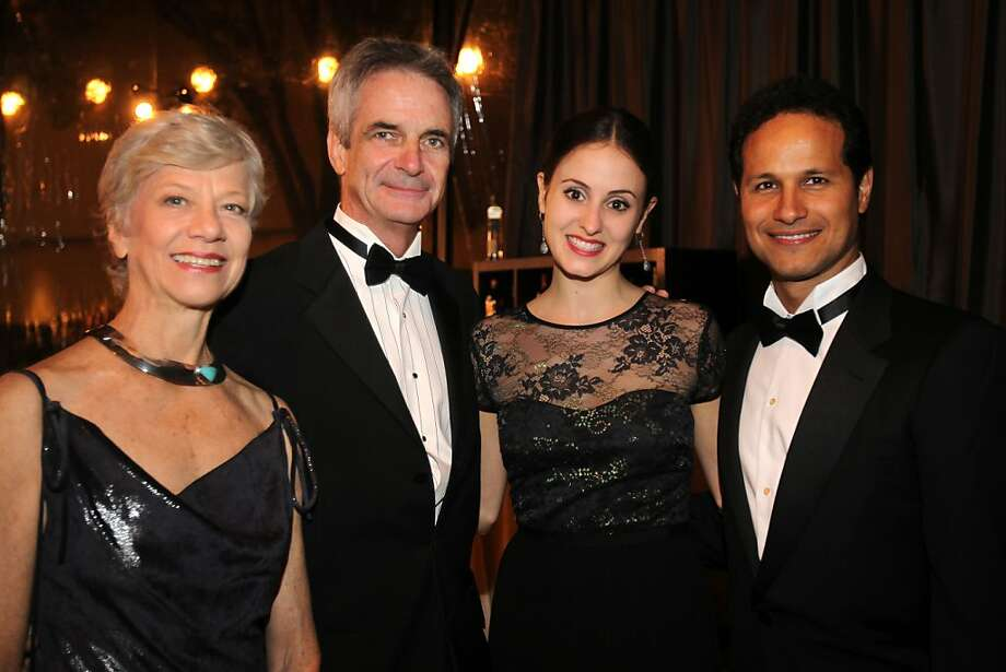 From left, Martine Van Hamel, Kevin McKenzie, Melanie Hamrick and Jose Carreno at the cocktail reception for the Artistic Director Jose Manuel Carreno with Ballet San Jose as part of a gala evening and performance November 16, 2013 at the San Jose Center for Performing Arts in San Jose, Calif. Photo: Leah Millis, The Chronicle
