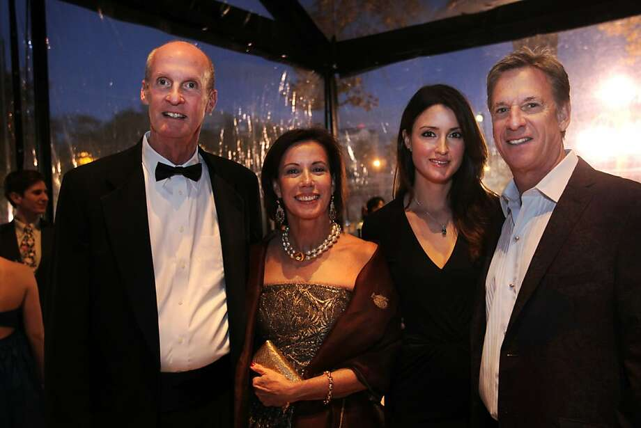 From left: John and Millicent Powers, with Agatha Relota Luczo and Steve Luczo, celebrate at the gala honoring the arrival of José Carreño as the San Jose Ballet's new artistic director. Photo: Leah Millis, The Chronicle