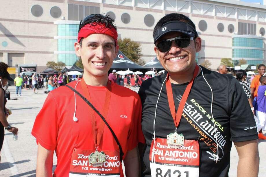 Thousands enjoyed the fun during the Rock n' Roll San Antonio Marathon and Half Marathon on Sunday.