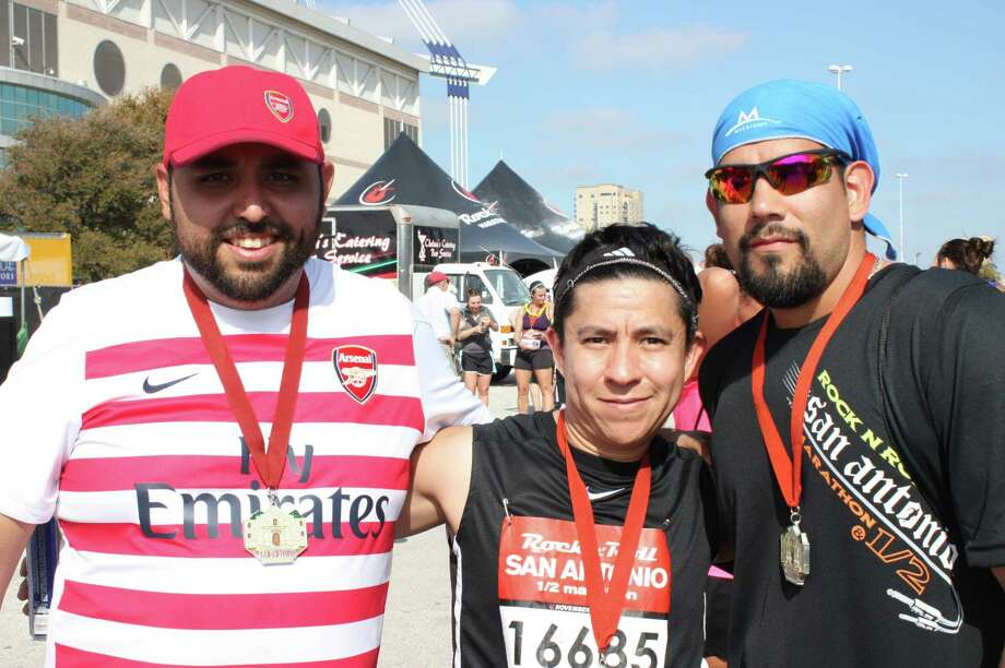 Thousands enjoyed the fun during the Rock n' Roll San Antonio Marathon and Half Marathon on Sunday.