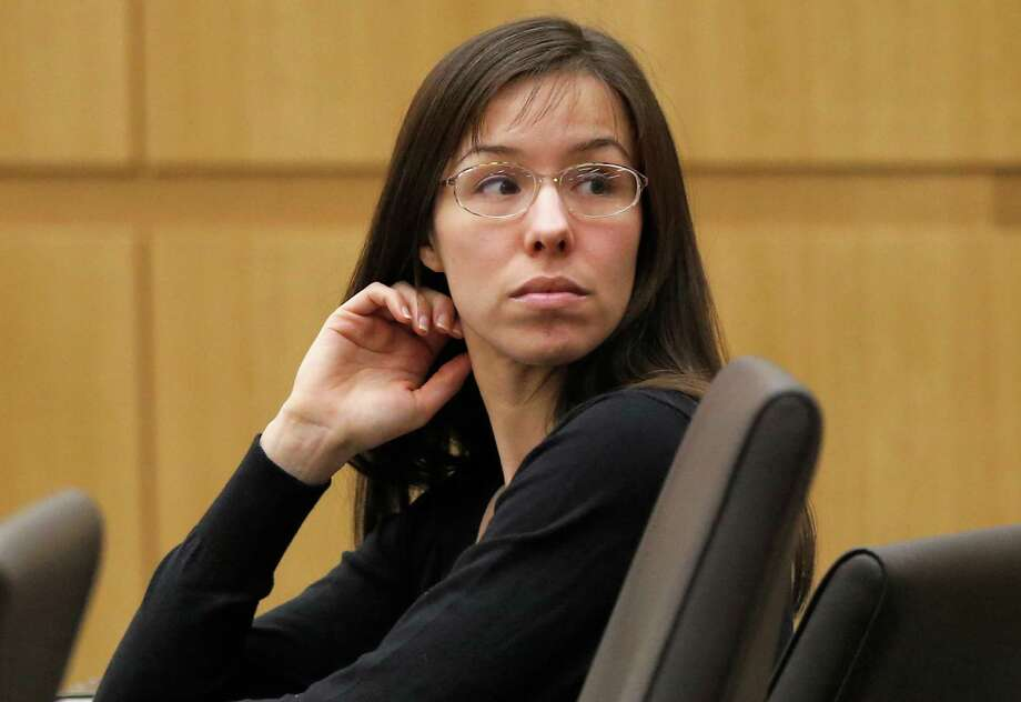 FILE - This Jan. 9, 2013 file photo shows Jodi Arias appearing for her trial in Maricopa County Superior court in Phoenix.  Live television coverage of Arias' penalty phase retrial will be banned and the case will remain in Phoenix despite defense arguments that intense publicity will make it difficult to find impartial jurors, a judge ruled this week. Photo: Matt York, AP / A2013