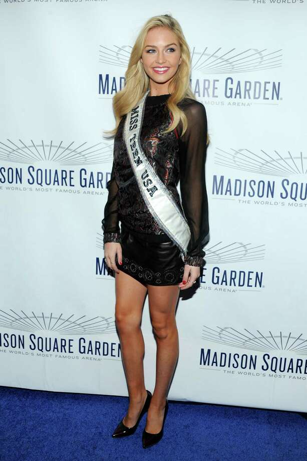 Miss Teen USA Cassidy Wolf. Photo: Ben Gabbe, Getty Images / 2013 Getty Images