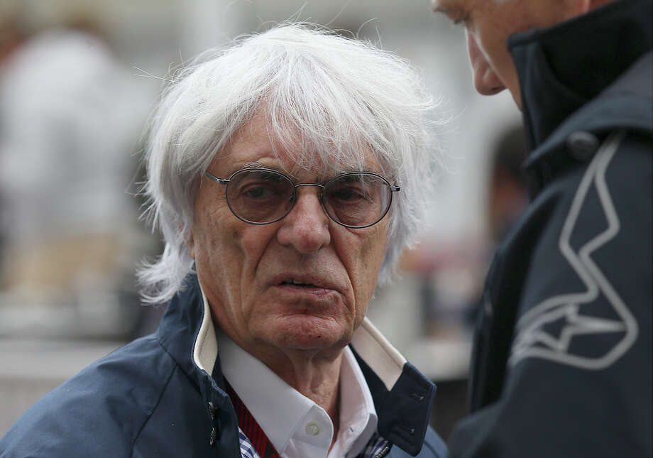 President and CEO of Formula 1 Bernie Ecclestone makes an appearance at the Circuit of the Americas near Austin, Texas on Thursday, Nov. 14, 2013. Photo: Kin Man Hui, San Antonio Express-News / ©2013 San Antonio Express-News