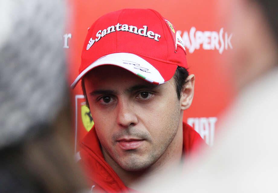 Ferrari driver Felipe Massa meets with media at the Circuit of the Americas near Austin, Texas on Thursday, Nov. 14, 2013. Photo: Kin Man Hui, San Antonio Express-News / ©2013 San Antonio Express-News