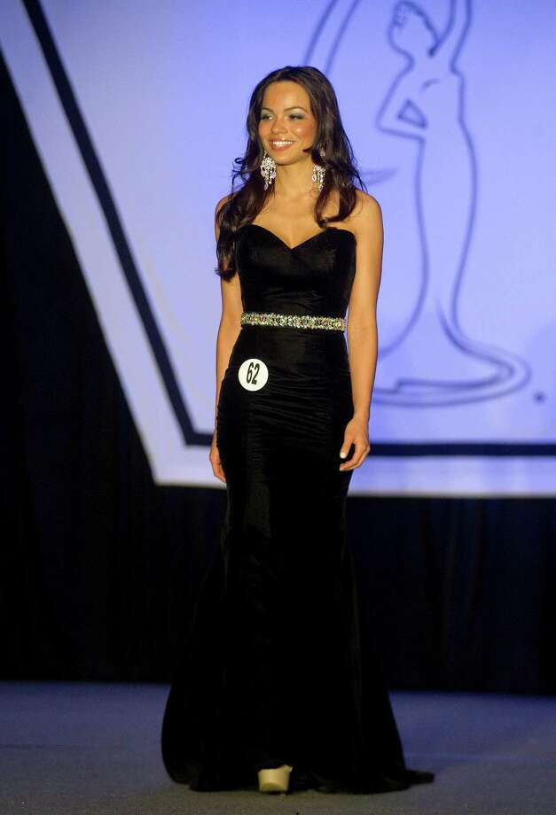 Tiffany Teixeira of Bridgeport competes in the Miss Connecticut USA pageant at the Stamford Marriott in Stamford, Conn., on Sunday, November 17, 2013. Photo: Lindsay Perry / Stamford Advocate