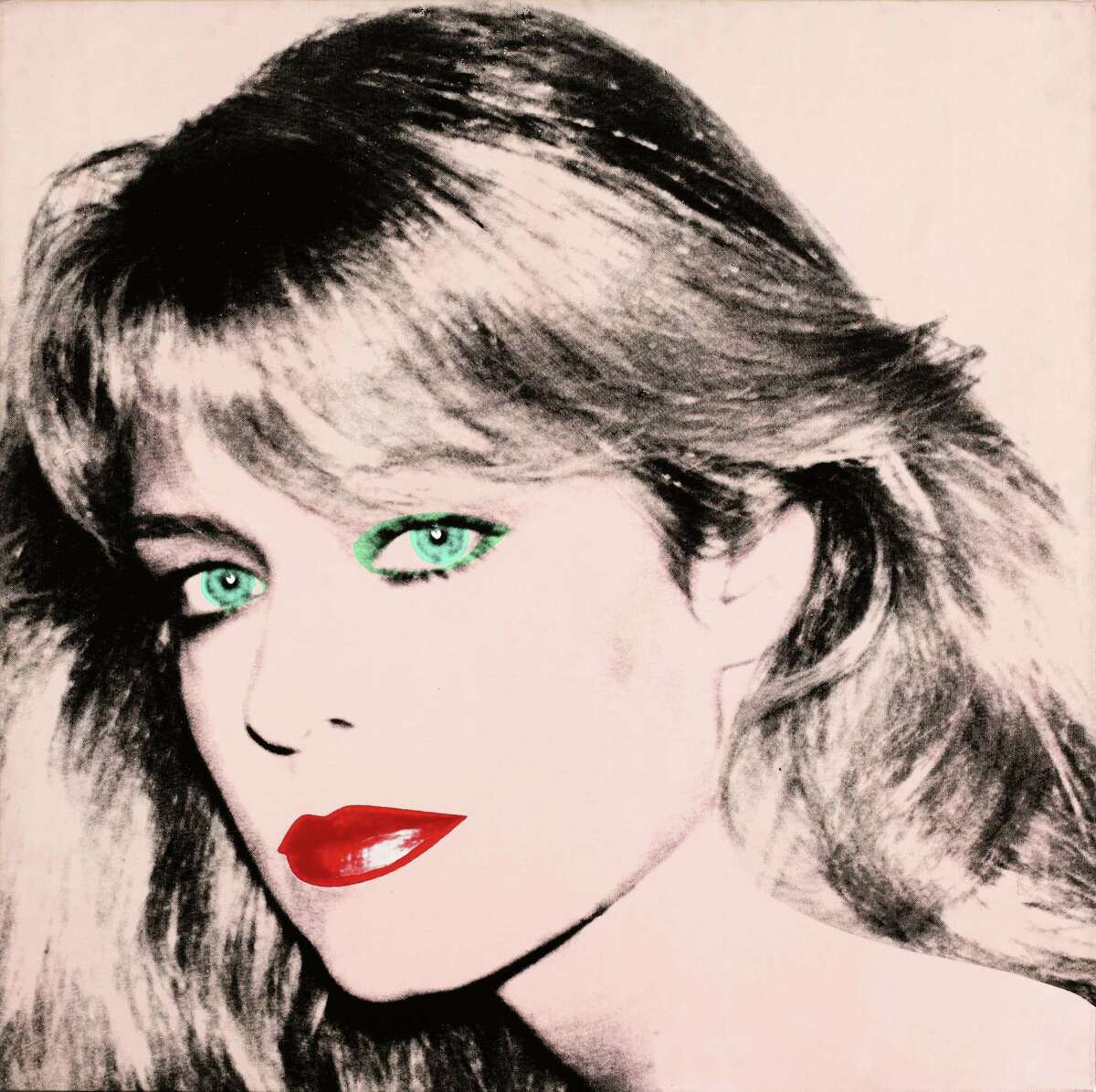A jury will decide if this Andy Warhol portrait of Farrah Fawcett should belong to actor Ryan O'Neal or the University of Texas at Austin.