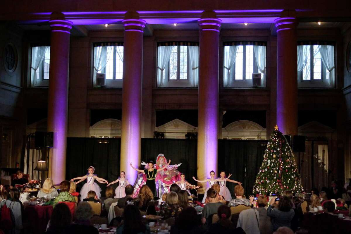 Dancers perform during the Nutcracker Tea put on by the Northeast Ballet Company at the Hall of Springs on Sunday, Nov. 17, 2013 in Saratoga Springs, NY. The event benefits SPAC's performing arts education programs. (Paul Buckowski / Times Union)