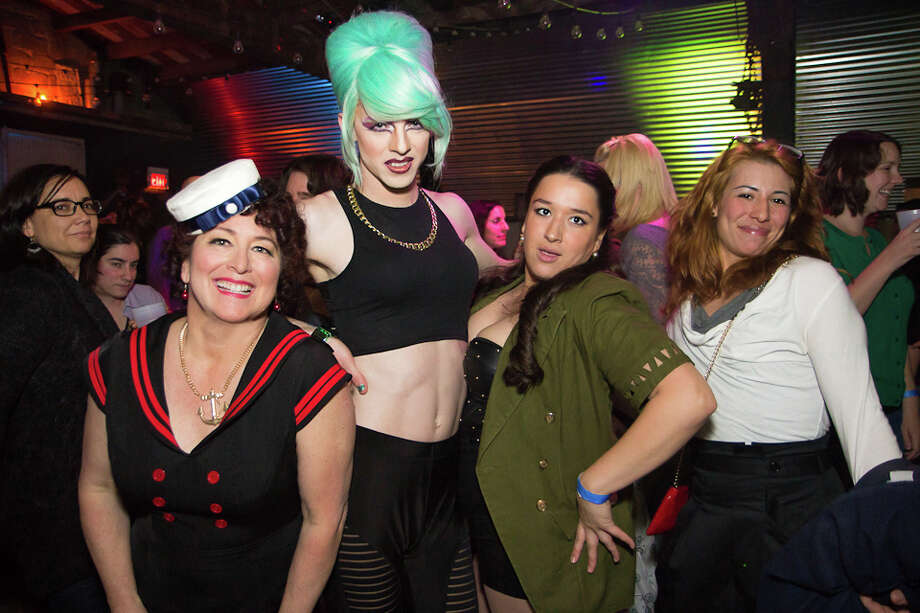 """Were You Seen at the """"Mother's Little Helper"""" 2014 Calendar Launch Party to Benefit the Pride Center of the Capital Region at The Hanger in Troy on Saturday, November 16, 2013? Photo: Brian Tromans"""