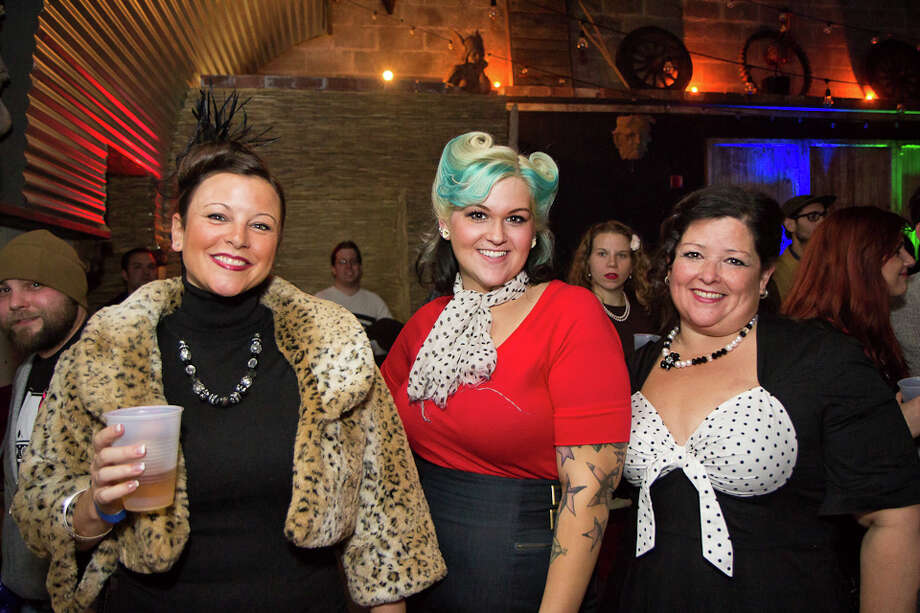 "Were You Seen at the ""Mother's Little Helper"" 2014 Calendar Launch Party to Benefit the Pride Center of the Capital Region at The Hanger in Troy on Saturday, November 16, 2013? Photo: Brian Tromans"