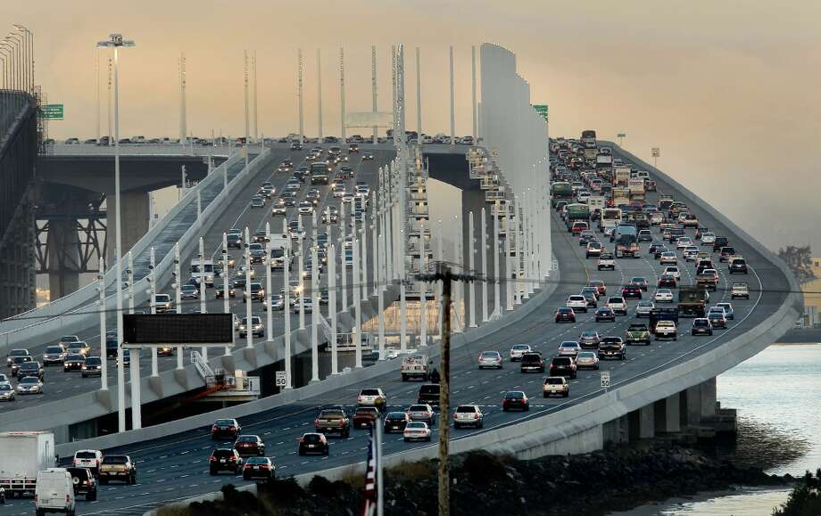 1. Try to get a span of the Bay Bridge named after himself. Photo: Michael Macor, San Francisco Chronicle