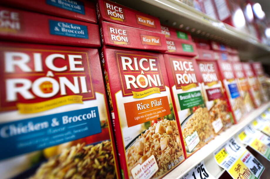 5. Call Rice-a-Roni San Francisco's greatest contribution to the food scene. Photo: Bloomberg, Bloomberg Via Getty Images / 2011 Bloomberg