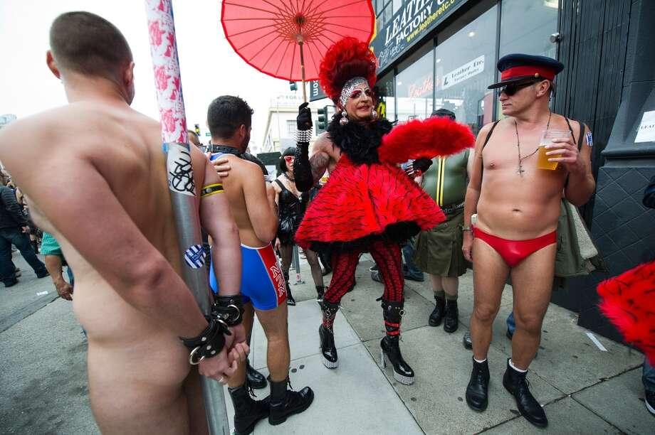 6. Enforce a dress code at Folsom Street fair. Photo: David Paul Morris, Special To The Chronicle