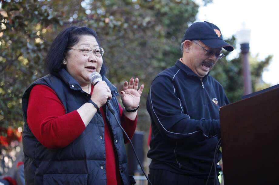 19. Tell Rose Pak and Willie Brown he doesn't need their advice.  Photo: Sonja Och, The Chronicle