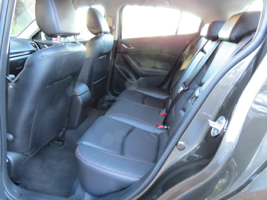 The rear seat is fine for two people, but would not be great for extra-long journeys.