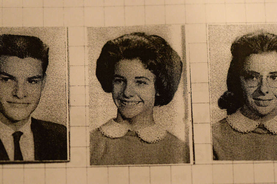 Senior year book photo of Liz Sandell, South Park High School graduating class of 1963. Michael Rivera/@michaelrivera88