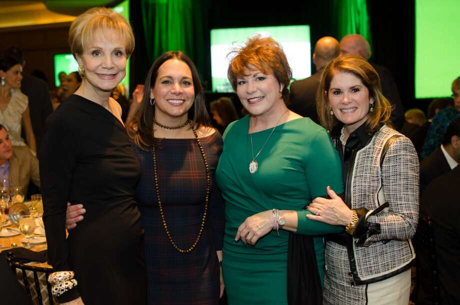 Leisa Holland-Nelson, Alina Garcia, Karen Stall, and Christine Napier during the Touchdown for Knowledge Arts Foundation Event on Wednesday, November 13, 2013 at Hotel Zaza in Houston, TX Photo: Jamaal Ellis, For The Chronicle