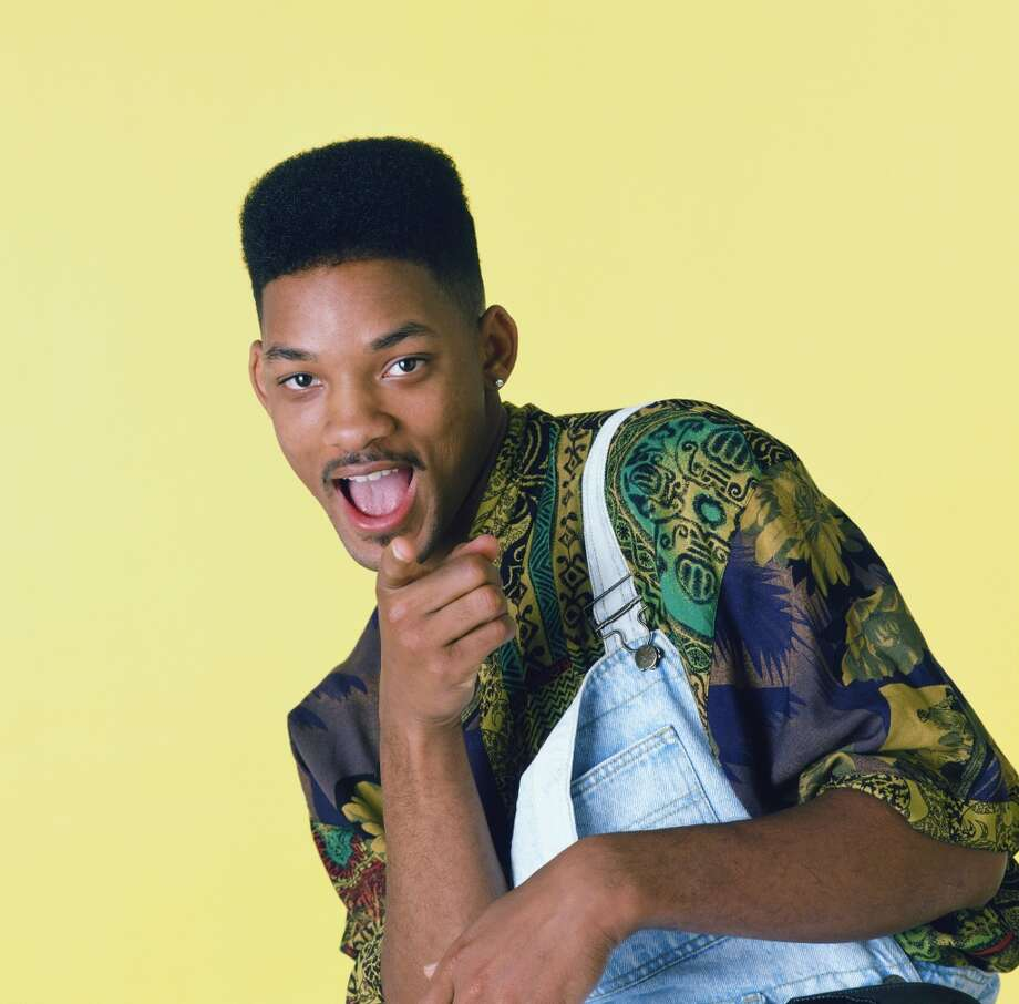 Actor Will Smith, 1990