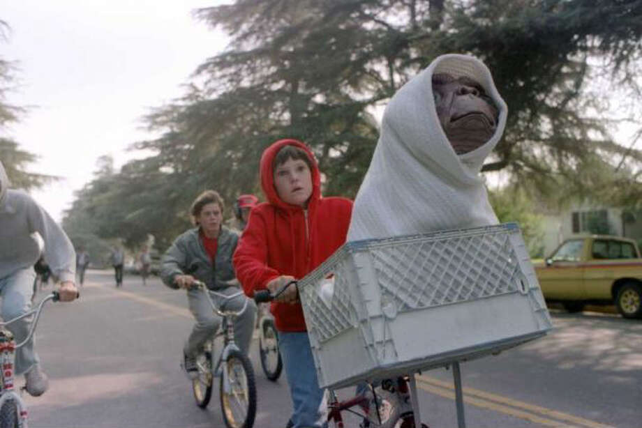 Now for some photos to remind you of how squarely middle aged you are. Here's Henry Thomas in the 1982 movie ''E.T. the Extra-Terrestrial.'' Photo: File Photo