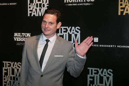 Henry Thomas on March 7, 2013, when he was inducted into the Texas Film Hall of Fame.