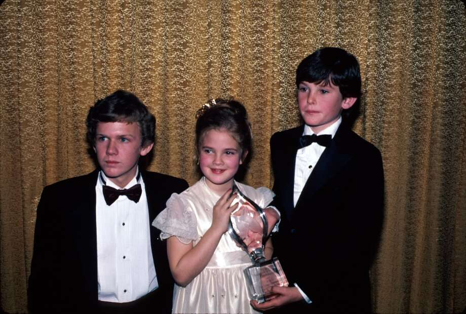 Here's Drew Barrymore, center, in 1982, when she starred in ''E.T. the Extra-Terrestrial'' in in 1982.