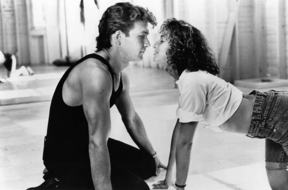 Patrick Swayze and Jennifer Grey in ''Dirty Dancing'' (1987).