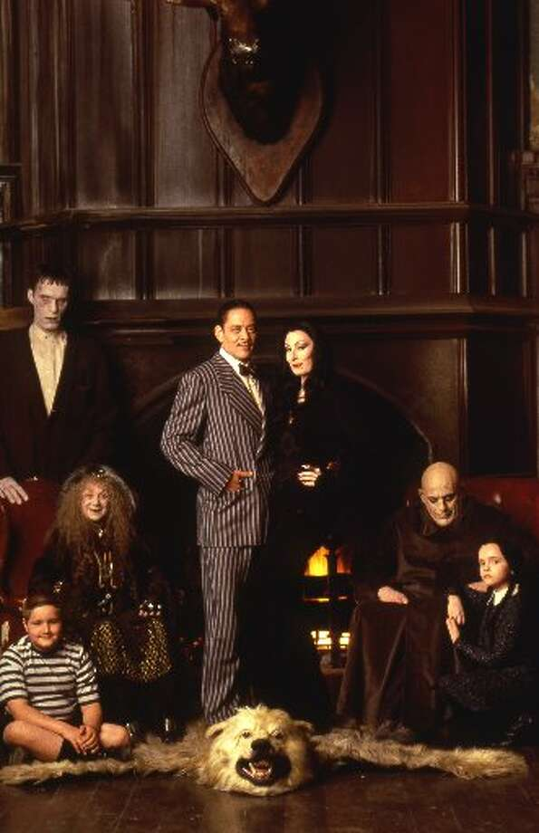 A still from The Addams Family movie, 1991.