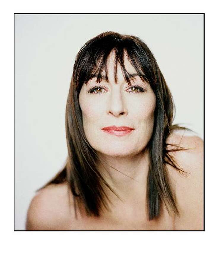 "Anjelica Huston, actress and author of the new memoir ""A Story Lately Told"""