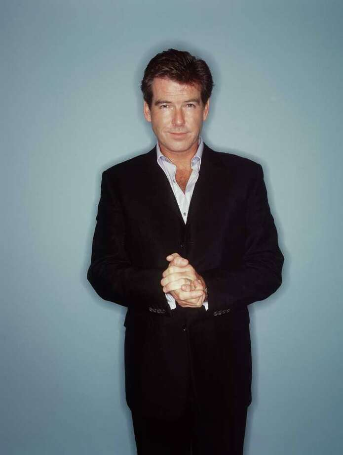 2001: Pierce Brosnan Photo: Scott Gries, Getty Images / Getty Images North America