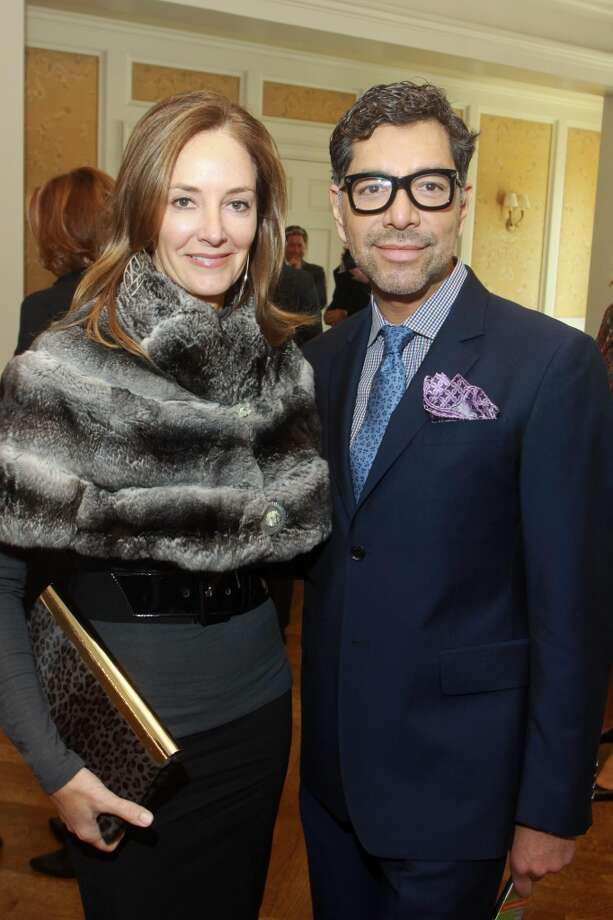 Renee Lewis and Ceron Photo: Gary Fountain, For The Chronicle