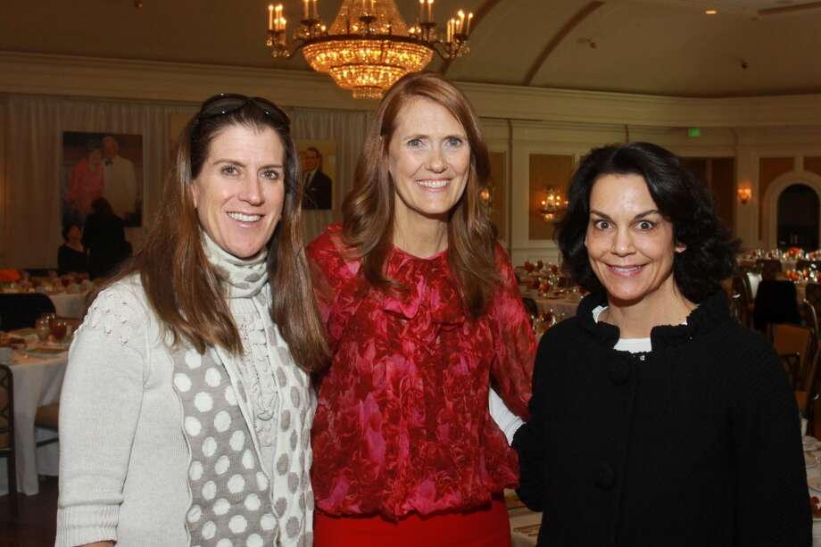 Kate Gibson, from left, Sallie Alcorn and Poppi Massey Photo: Gary Fountain, For The Chronicle