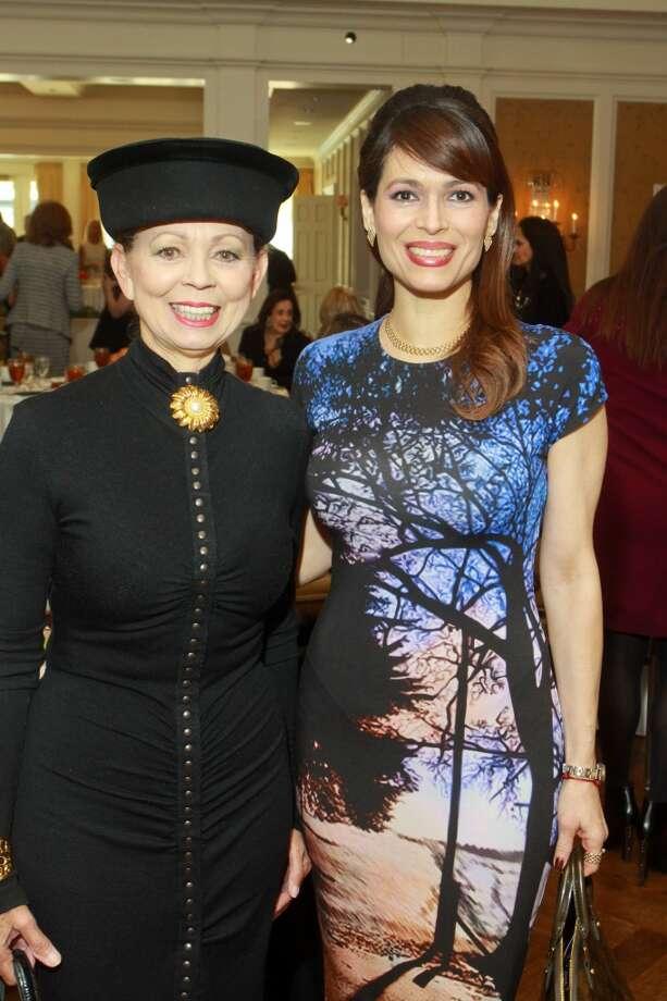 Danielle Ellis, left, and Karina Barbieri Photo: Gary Fountain, For The Chronicle
