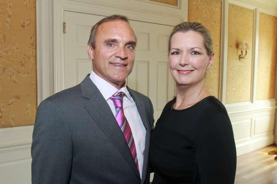 Brad and Diana Wander Photo: Gary Fountain, For The Chronicle
