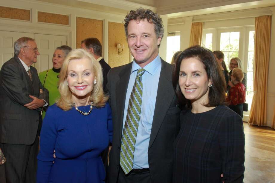 Pat Breen, from left, Mark McMurrey and Ann Wolf Photo: Gary Fountain, For The Chronicle