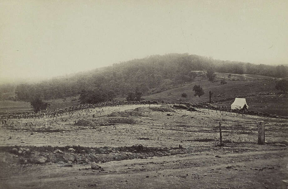 Culp's Hill, part of the site of the Battle of Gettysburg, circa 1863. Photo: Library Of Congress, Getty Images / Archive Photos