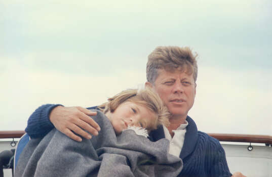 President John F. Kennedy with daughter Caroline. Photo: Fotosearch, Getty Images / 2010 Getty Images